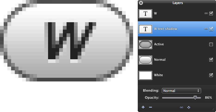 Toolbar button for the Wordtracker Firefox plugin